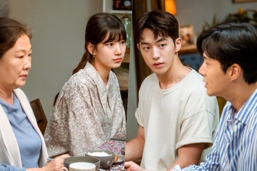 "Nam Joo Hyuk And Kim Seon Ho Battle To Win Over Suzy And Her Grandma On  ""Start-Up"" | Soompi"