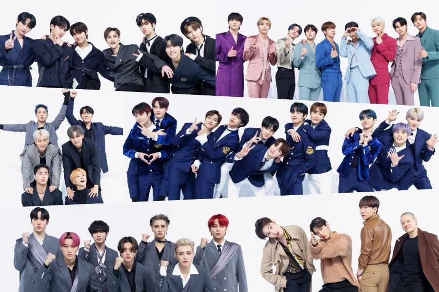 """""""Kingdom"""" Groups Get Creative With Their Poses In New Official Profile Photos"""