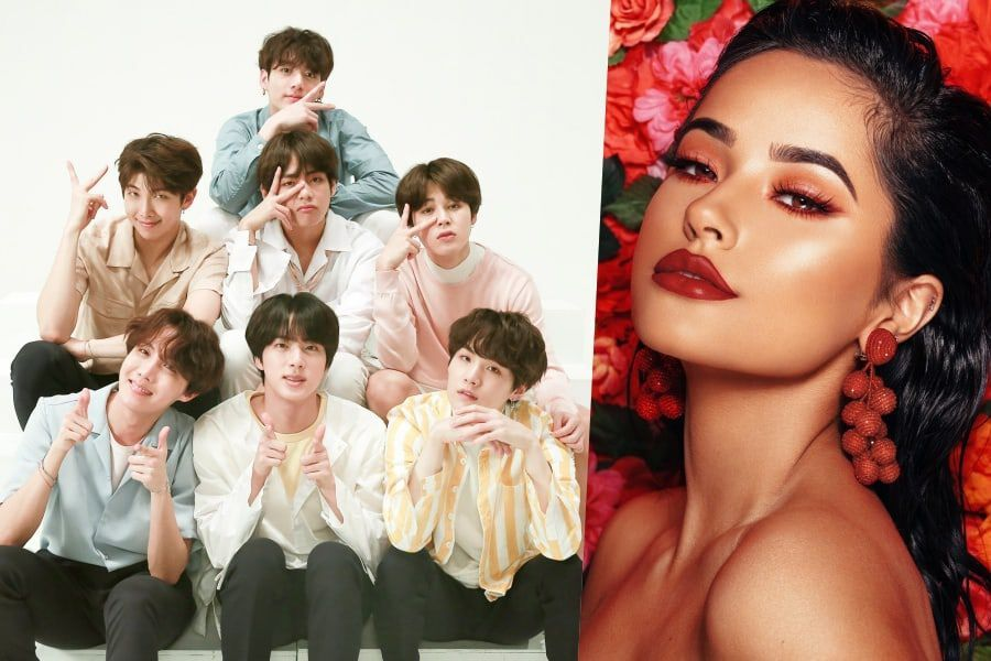 BTS And Becky G Hint At Potential Collab On Twitter
