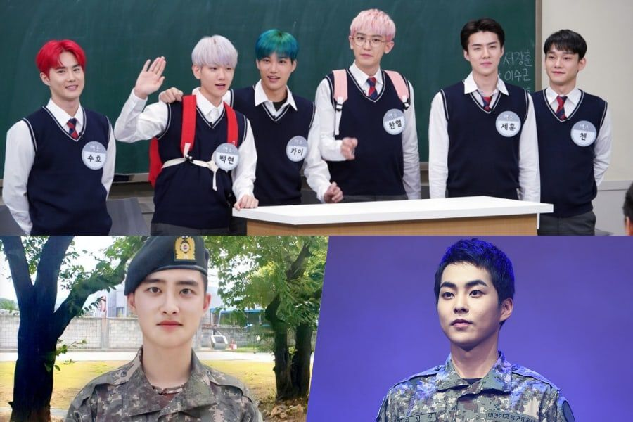 EXO Reveals How D.O. And Xiumin Changed After Going To The Military