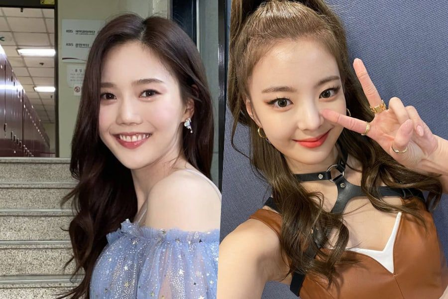 Oh My Girl's Hyojung Shows Off Handmade Bracelet ITZY's Lia Gave Her