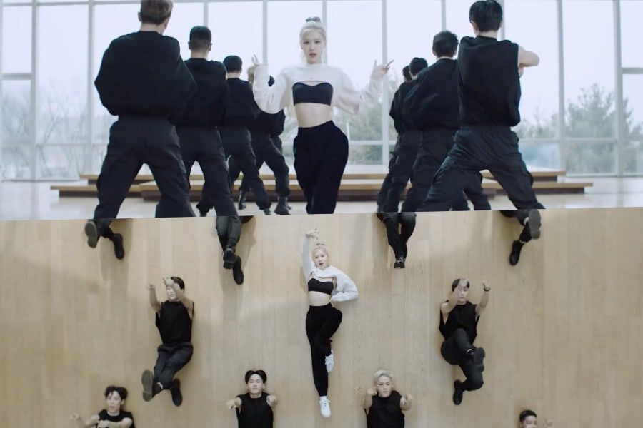 "Watch: BLACKPINK's Rosé Reveals Dazzling ""On The Ground"" Dance Performance Video"