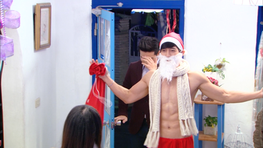 Pin Yao is a sexy Santa Claus: Aim High