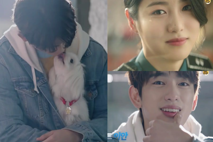 "Watch: tvN's New Drama ""He Is Psychometric"" Shares Character Teasers Of GOT7's Jinyoung And Shin Ye Eun"