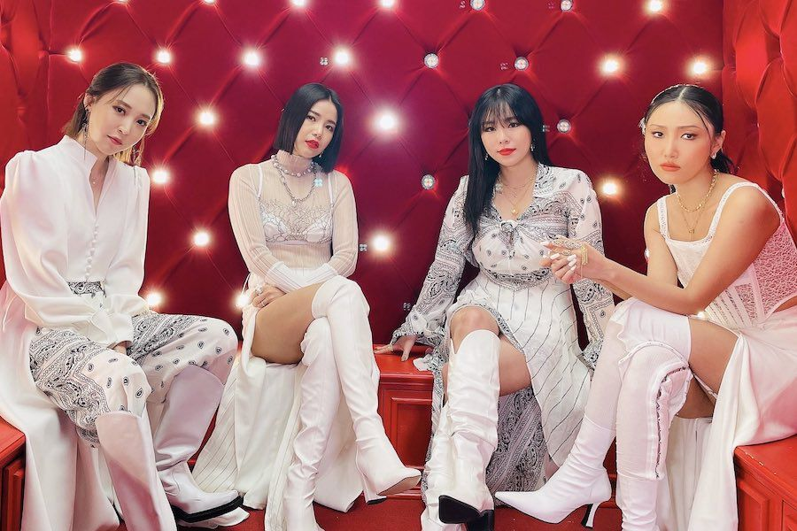 MAMAMOO's Agency RBW Shares Current Status Of Members' Contract Renewals