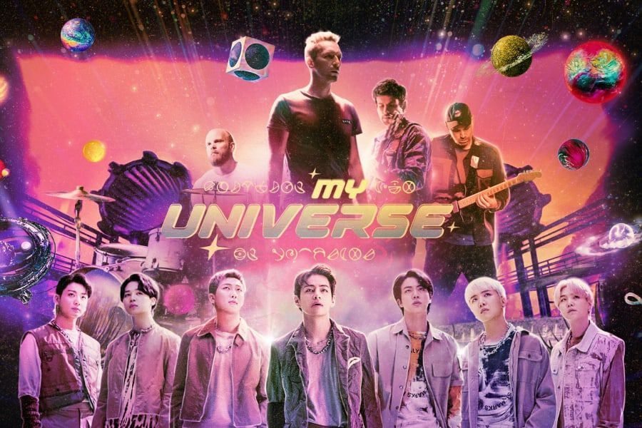 """Watch: BTS And Coldplay Come Together Using Holograms In Futuristic And Cinematic """"My Universe"""" MV"""