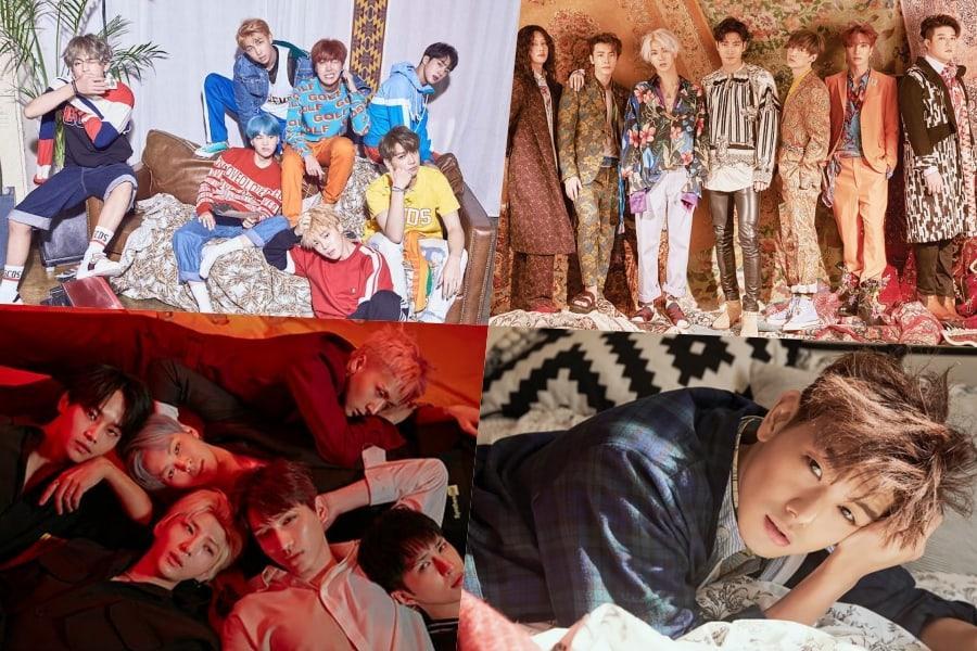 BTS, Super Junior, VIXX, Eric Nam, And More Rank High On