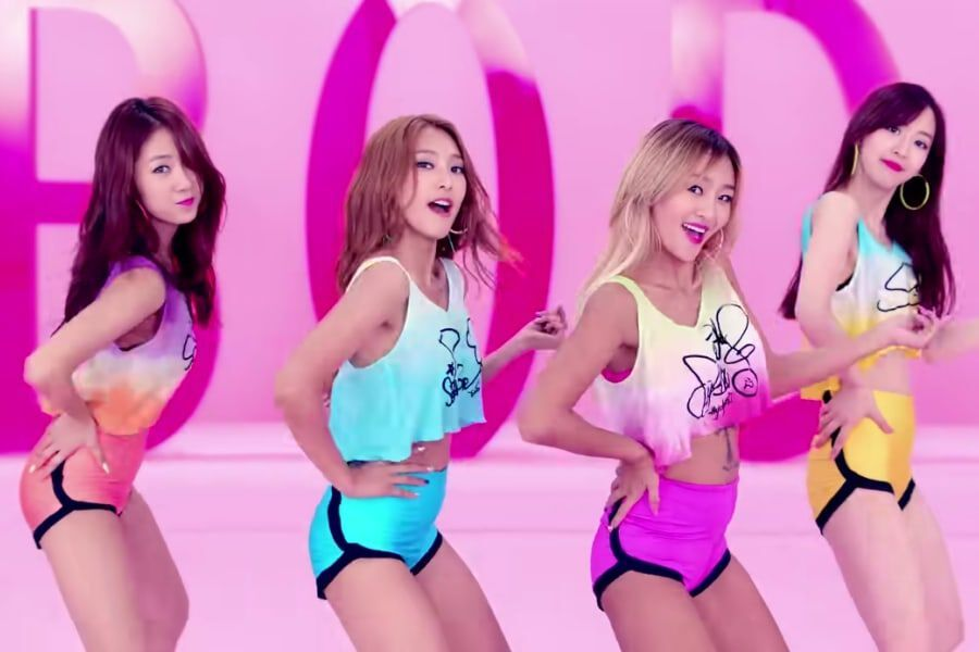 """SISTAR's """"Touch My Body"""" Becomes Their 3rd MV To Hit 100 Million Views"""