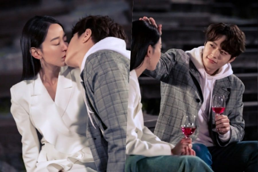 "INFINITE's L And Shin Hye Sun Get Hearts Racing With Unexpected Kiss On ""Angel's Last Mission: Love"""