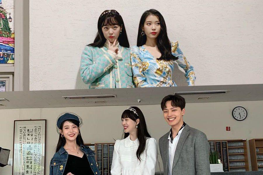 Sulli Shares Photos From Cameo In Hotel Del Luna Poses With Iu