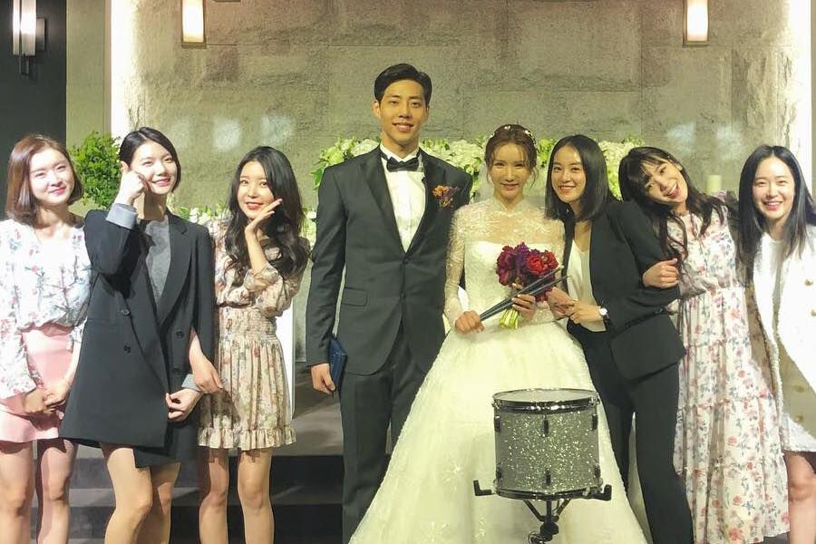 After School Members Share Beautiful Photos And Videos Of Jung Ah S Wedding