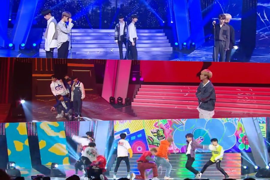 "Watch: ""Under 19"" Contestants Cover BTS And Block B In 2nd Round Of Team Battles"
