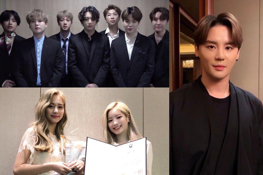 BTS, TWICE, Kim Junsu, And More Awarded Hallyu Culture Daesang At 2019 K-Expo