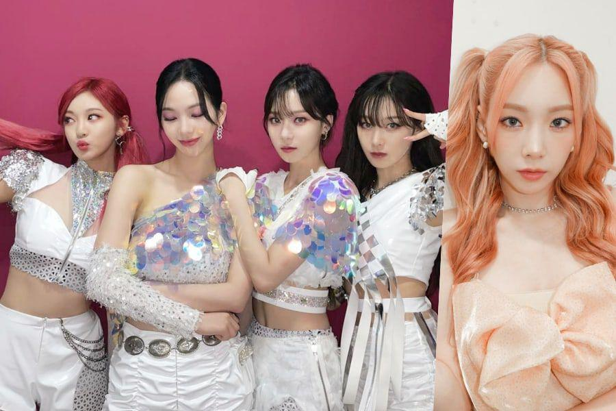 Watch: aespa And Girls' Generation's Taeyeon Show Love For One Another By Dancing To Each Other's Songs