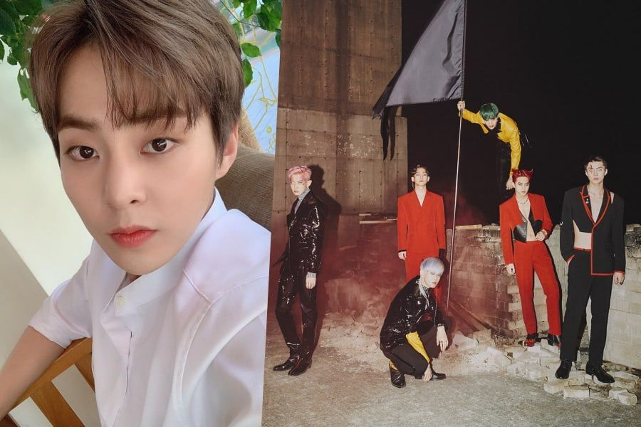 Xiumin Cheers On EXO's Comeback (And Reveals He's Team X-EXO)