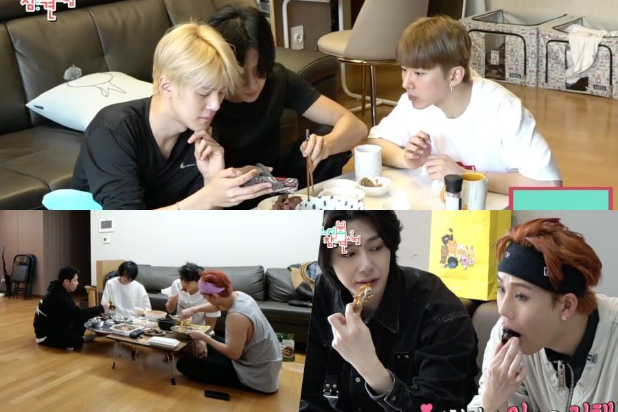 Watch: MONSTA X Shows Their Everyday Dorm Lives And Endless Love Of Food