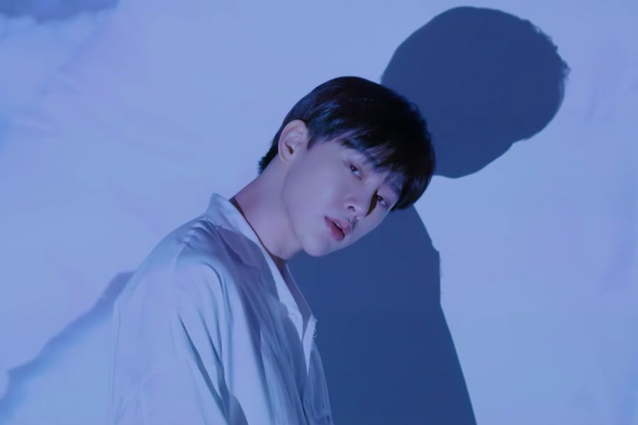 "Watch: VIINI (Kwon Hyun Bin) Feels Lonely In MV For ""Love The Moon"" Featuring AKMU's Lee Soo Hyun And BLOO"