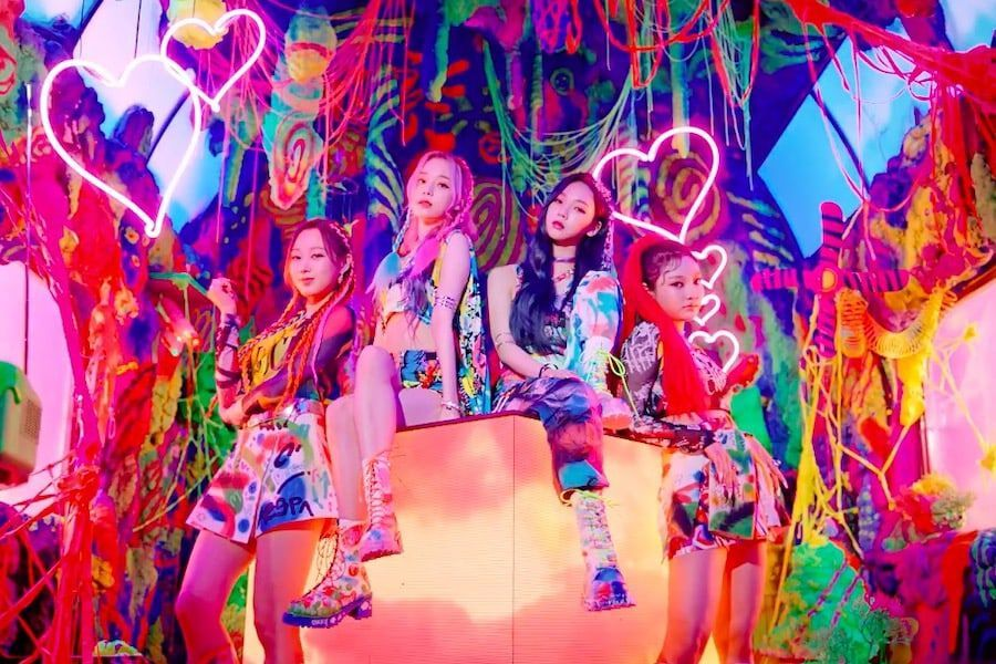 "aespa's ""Black Mamba"" Becomes Fastest K-Pop Group Debut MV To Hit 100 Million Views"