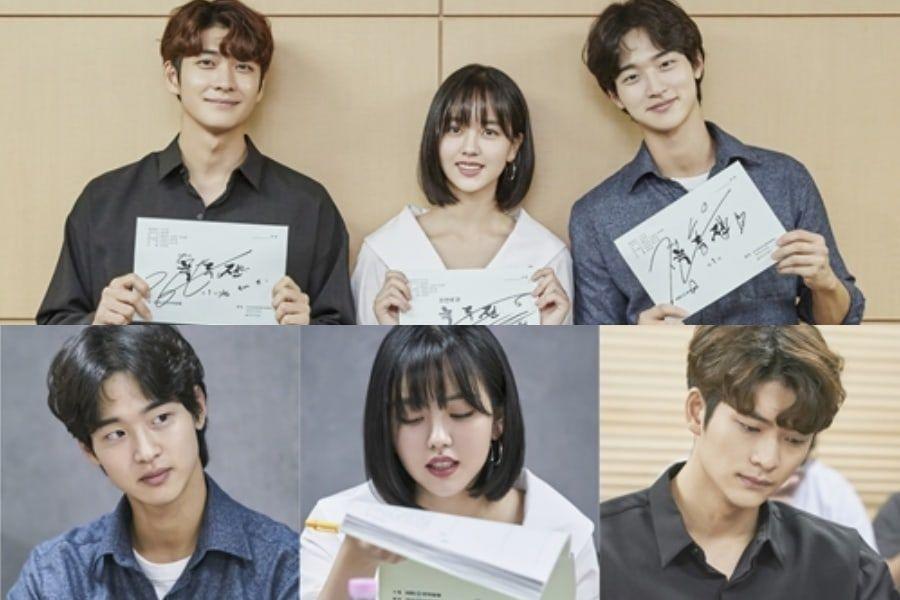 Kim So Hyun, Jang Dong Yoon, And More Show Great Chemistry At Script Reading For Upcoming Historical Rom-Com