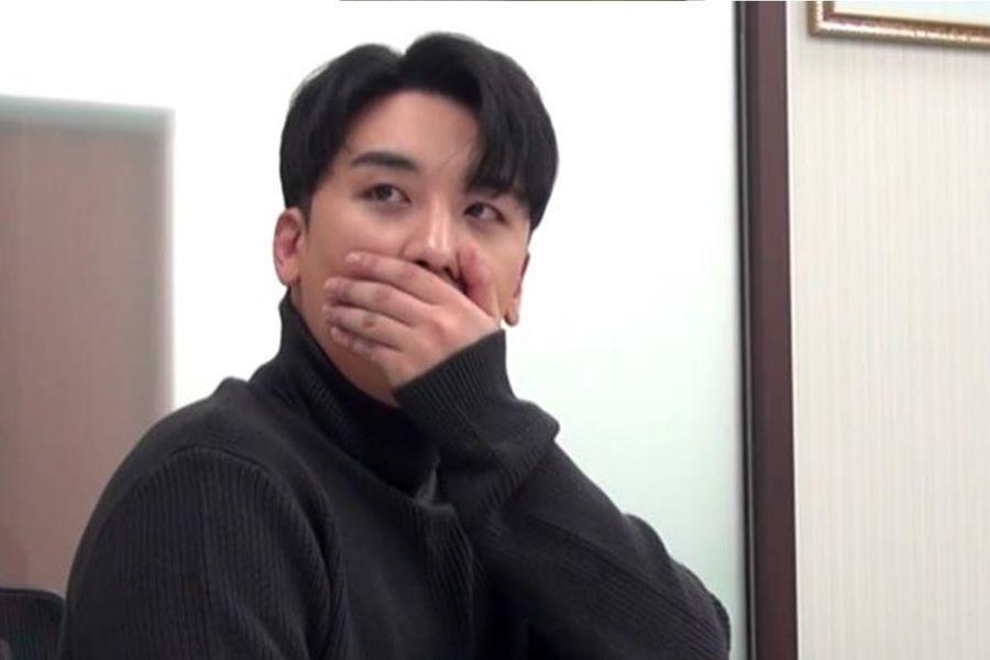 """Seungri de BIGBANG impresionado al comprobar sus gastos de 2018 en """"I Live Alone"""""""