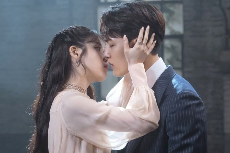 """IU And Yeo Jin Goo Are Moments Away From A Kiss In """"Hotel Del Luna"""""""