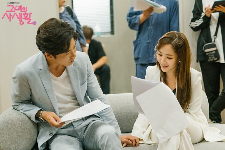 """Her Private Life"" Cast Shows Close Bond Behind The Scenes"