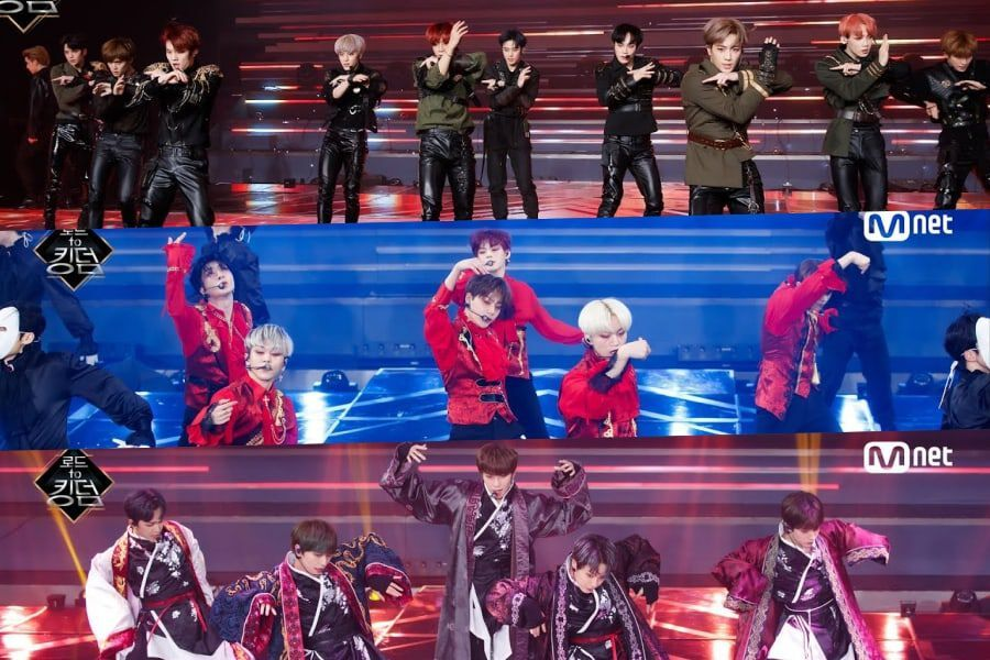 """Watch: ONF, Golden Child, ONEUS, VERIVERY, TOO, And The Boyz Stage Intense Performances For """"Road To Kingdom"""" 2nd Round"""