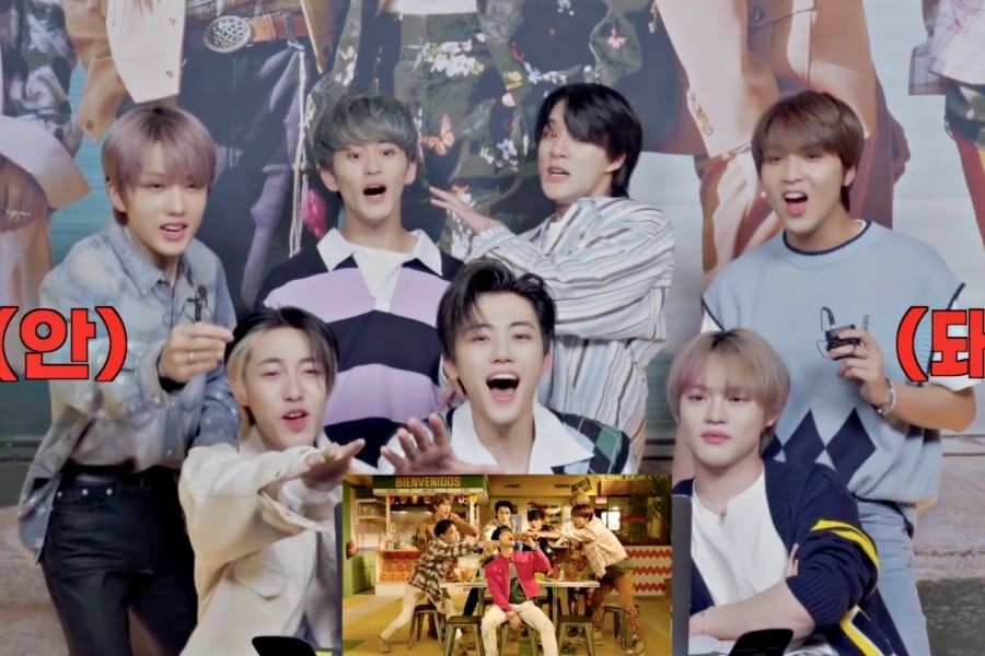 "Watch: NCT DREAM Gets All Fired Up While Reacting To Their Own ""Hot Sauce"" MV"
