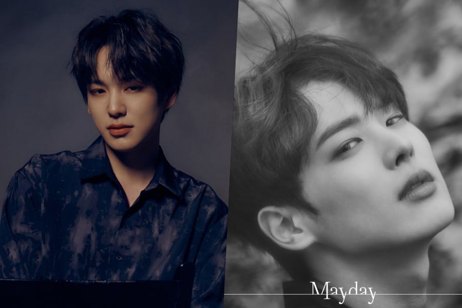 "Update: VICTON Shares Striking Teasers Of Chan And Byungchan Ahead Of ""Mayday"" Comeback"