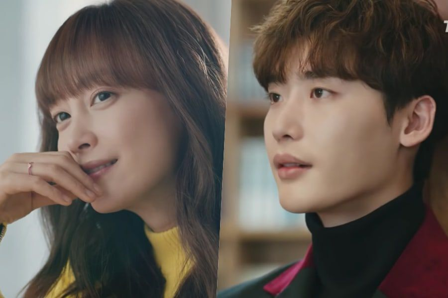 Watch: Lee Na Young And Lee Jong Suk Convey Their Emotions
