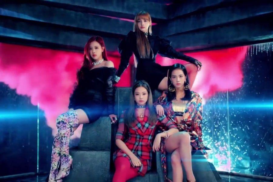 "BLACKPINK's ""DDU-DU DDU-DU"" Becomes Fastest K-Pop Group MV To Reach 600 Million Views"