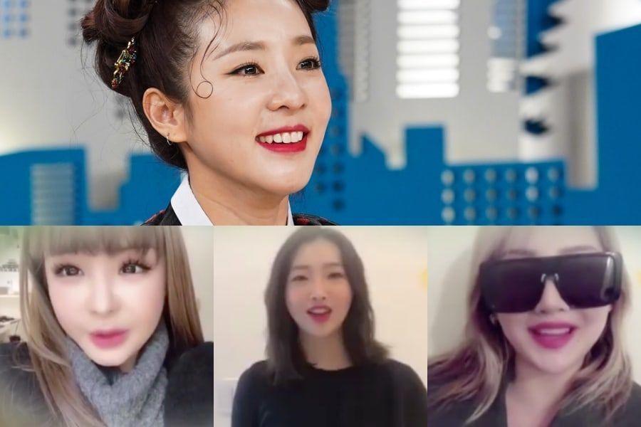 """2NE1 calienta corazones cuando Park Bom, Minzy y CL envían mensajes de felicitación a la nueva MC de """"Video Star"""" Sandara Park"""