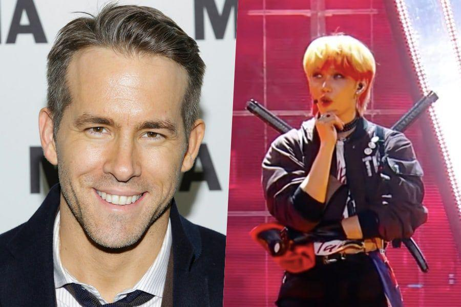"Ryan Reynolds Shows Love For Stray Kids' ""Kingdom"" Homage To ""Deadpool"" |  Soompi"