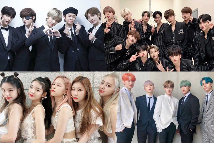 TXT, X1, ITZY, And AB6IX To Attend V Live Awards Show V HEARTBEAT