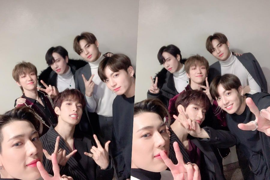 97 Liner Friends From BTS, GOT7, And SEVENTEEN Share Reunion