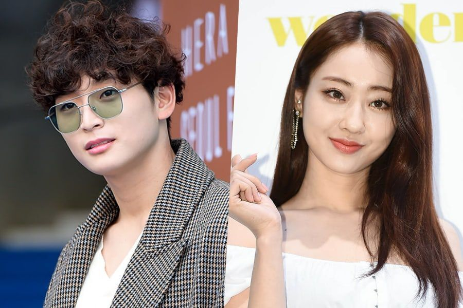 Update: Jeong Jinwoon And Kyungri Confirmed To Be Dating