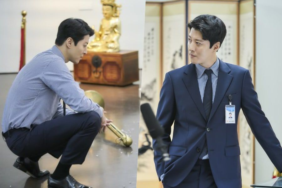 "Lee Dong Gun Oozes Charisma In First Stills For ""Leverage"""