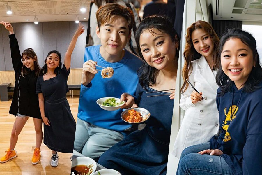 """Watch: """"To All The Boys I've Loved Before"""" Star Lana Condor Hangs Out With Henry, Jeon Somi, And Risabe"""