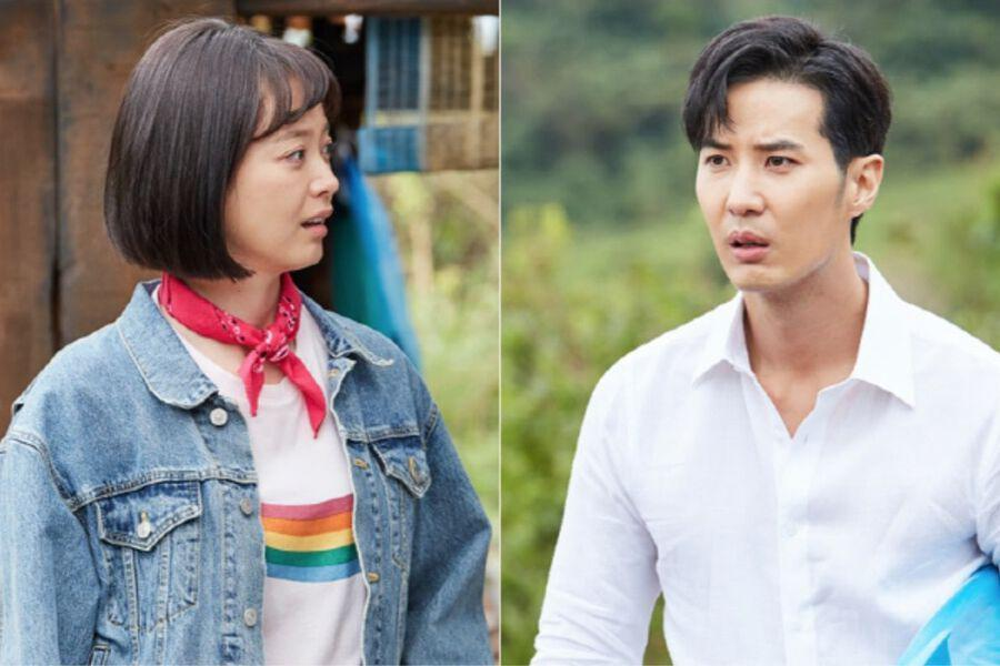 Jun So Min And Kim Ji Suk Are Not Quite Love At First