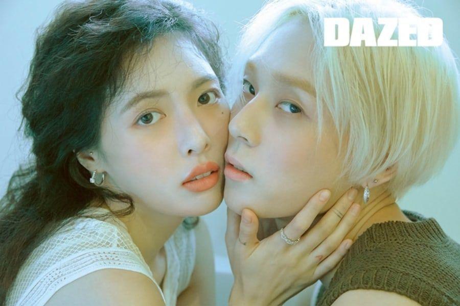 HyunA y Hyojong posan en su primera sesión fotográfica como pareja