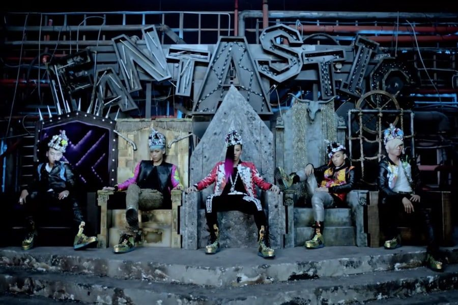 """Fantastic Baby"" Becomes BIGBANG's 2nd MV To Surpass 450 Million Views"