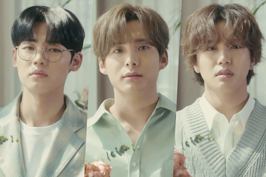 "Watch: A.C.E's Jun, Donghun, And Chan Reminisce On ""First Love"" In MV For Hong Chang Woo's Project Album"