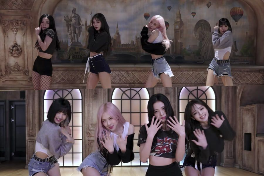 """Watch: BLACKPINK Gives Close Look At """"Lovesick Girls"""" Choreography In Dance  Practice Video   Soompi"""