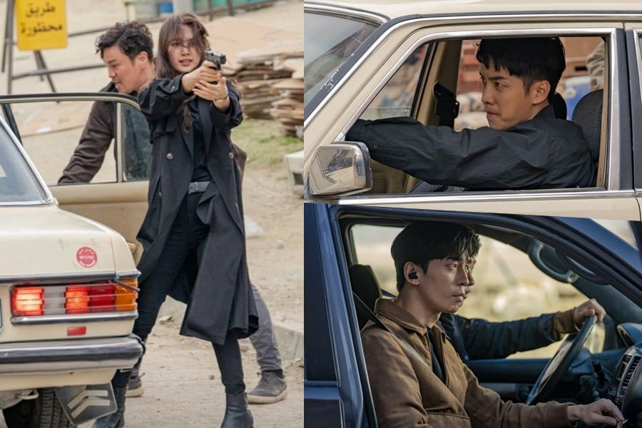 "[K-Drama]: Suzy, Lee Seung Gi, And Shin Sung Rok Get Involved In A Dangerous Shootout In ""Vagabond"""