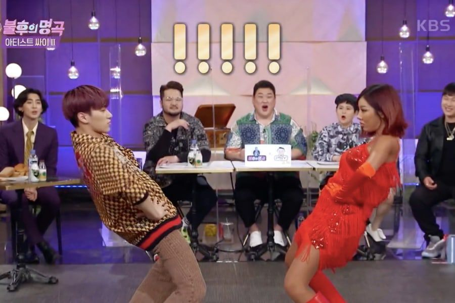 """Watch: ATEEZ's San And Jessi Dance To """"What Type Of X"""" Together On """"Immortal Songs"""""""