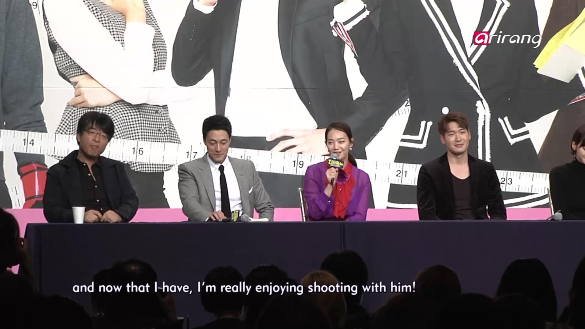 So Ji Sub & Shin Min Ah's 'Oh My Venus' - Press Conference: Showbiz Korea