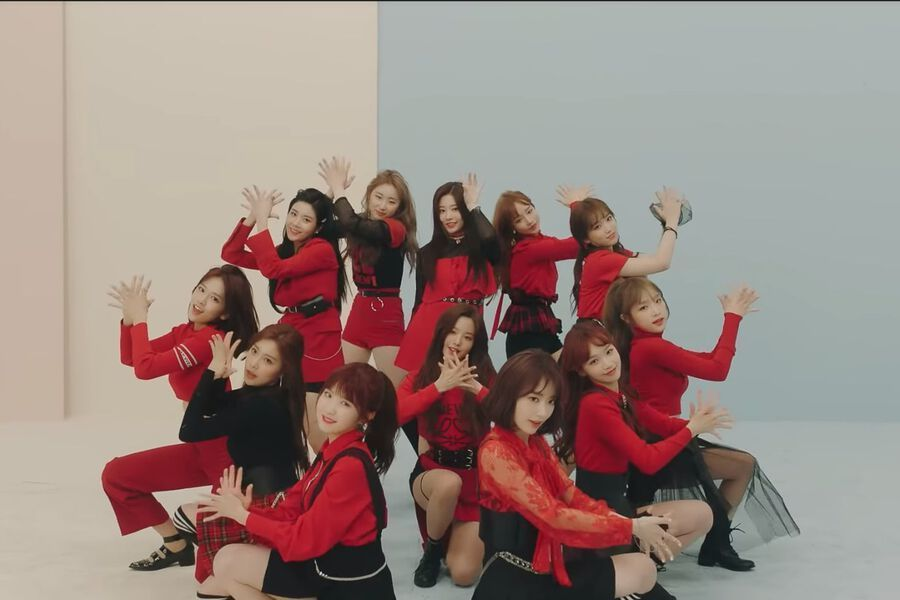 "IZ*ONE's ""La Vie En Rose"" Becomes K-Pop Group Debut MV With Most"