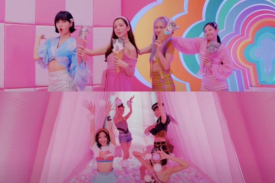 "BLACKPINK's ""Ice Cream"" Becomes Their 8th MV To Reach 300 Million Views"