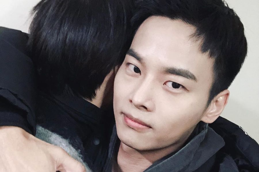VIXX's Leo Shares Update On N With Photos Of Their Big Hug