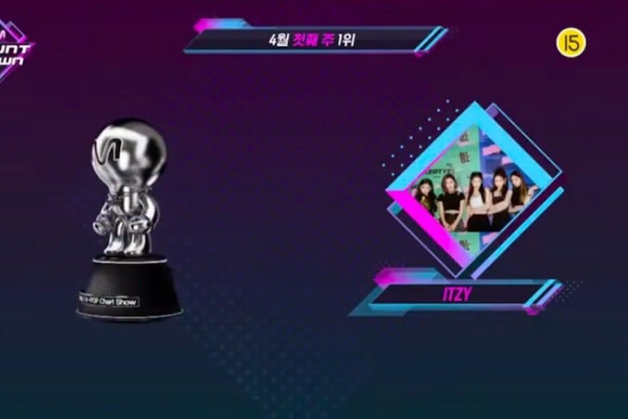 "Watch: ITZY Scores 7th Win For ""WANNABE"" And Triple Crown On ""M Countdown"""